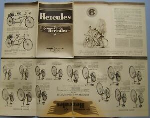 Hercules-Bicycle-Range-1938-Original-Cycling-Sales-Brochure-Pub-No-5-25-3-38