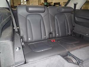 09 Audi Q7 3rd Row Bench Seat 4 Door Leather S Line