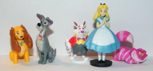 Disney Classic Movie Figure Set of 10 Peter Pan Alice in Wonderland Pinocchio