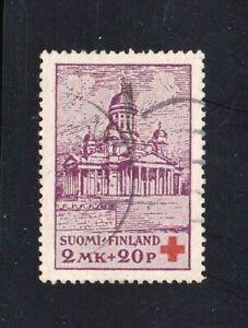 Finland-stamp-B10-used-Semi-Postal-1922-Red-Cross-SCV-10-00