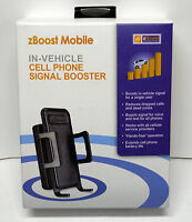 Zb Sb A Phone Signal Booster Amplifier Boost Cricket Wireless Cellular Service