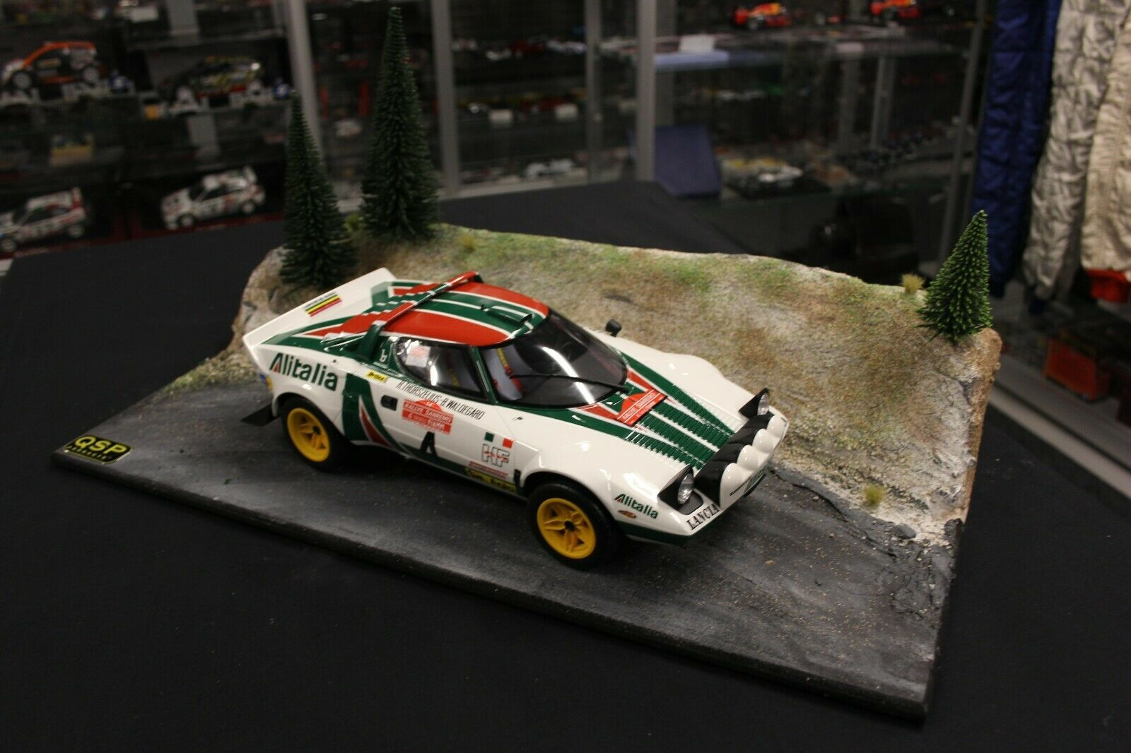 QSP Diorama 1 12 Rallye stage type 3  spring   summer