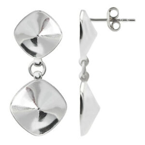 Sterling Silver Dangle Stud Posts 57x11mm for Gluing 1122 /& 2088 Crystals