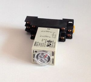 H3Y-2-DPDT-Power-On-Time-Delay-Relay-Timer-w-Socket-3-5-10-30-60S-3-5-10-30-60M