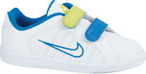 Nike Court Tradition 2 Plus LEATHER UK 1 EUR 33 BRAND NEW BOXED SALE 407928123