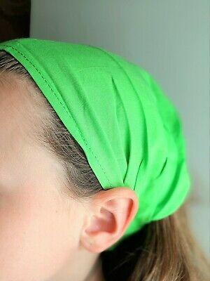 Bandeau à Cheveux Serre tête Fichu Ethnique fille femme élastique violet