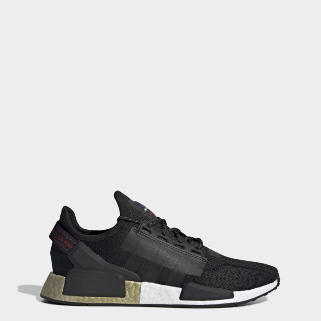 Adidas Men S Us 8 Nmd R1 V2 Sneakers Black Gold Metallic Fw5327