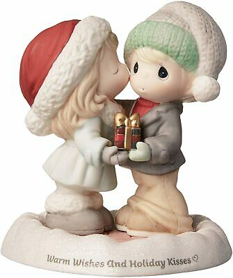 "Precious Moments /""Warm Wishes and Holiday Kisses/"" 181014 NIB"
