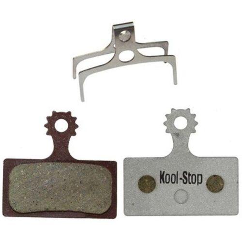 Kool Stop D635A Fahrrad-Scheibenbremsbelag Aluminium für Shimano XTR//SLX//Deore