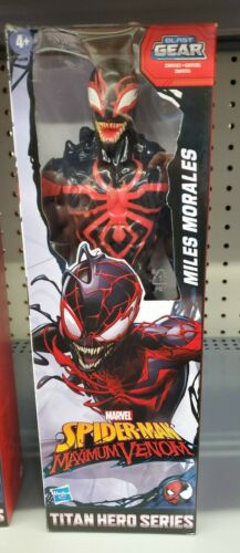 "Marvel Titan Hero Série Spiderman Maximum Venom Ghost-Spider Brand new Comme neuf in box 12/"""