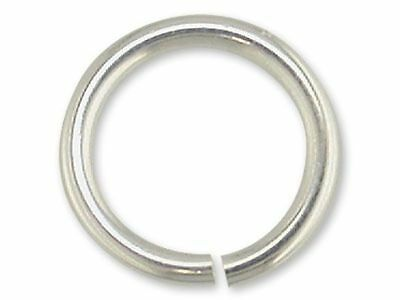 50 x 3mm Lightweight .925 Sterling Silver Jump Rings