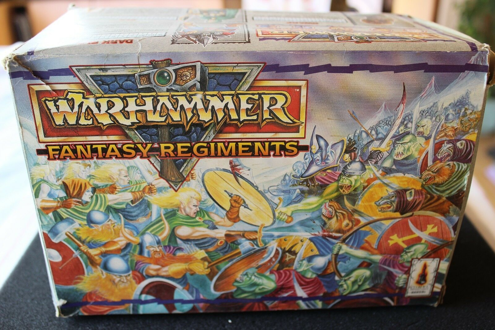 Games Workshop CITTADELLA PBS3 Warhammer Fantasy Reggimento in scatola esercito FANTASY fuori catalogo