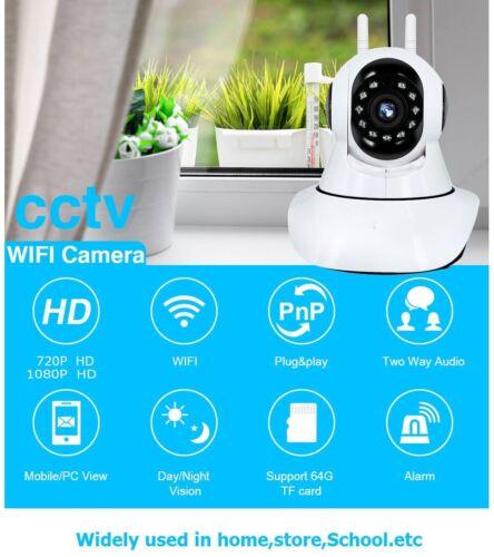 Wireless IP Security Camera Pan Tilt WiFi Audio Surveillance HD 720P 1080P WiFi