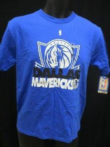New Dallas Mavericks Basketball Youth Sizes L/XL Majestic Blue Shirt