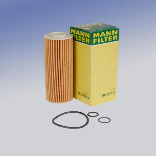 Uomo HU 514 y filtro dell/'olio FILTRO INSERTO PER MERCEDES CLASSE C CLASSE E SLK