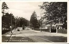 Boscombe. Linden Hall, Christchurch Road # 84. Tram.