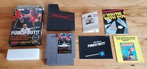 Mike-Tyson-039-s-Punch-Out-Nintendo-NES-Punchout-Game-Complete-Manual-Letter-CIB-Lot