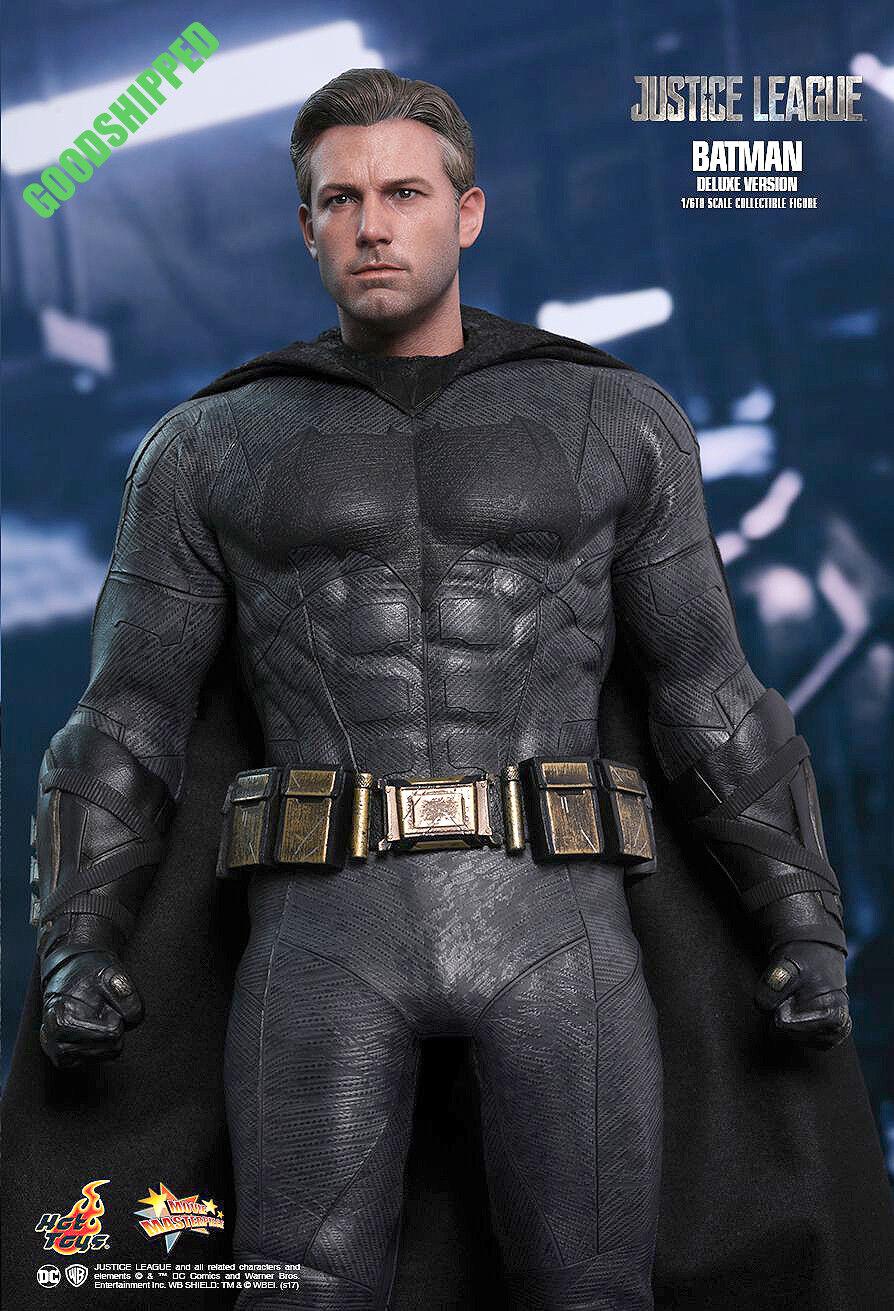 HOT TOYS 2017 MARVEL Liga De La Justicia Batman Bruce Wayne Ben Affleck 1 6 normal