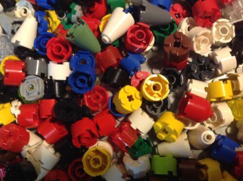 150 LEGO ® circa pietre pilastri in vers altezze cono l257 2 x 2 pietre Bricks KG