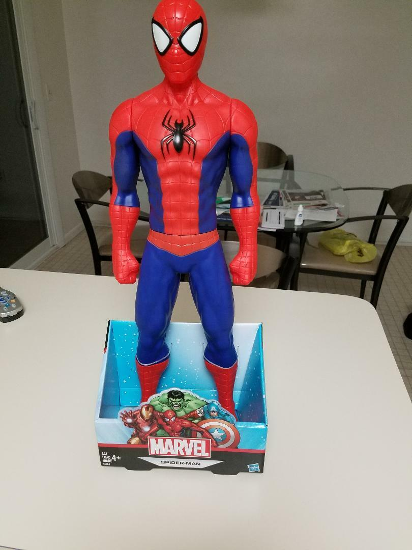 Marvel Spiderman Titan Hero Series 20  Inch Action Figure - Hasbro- Nuovo In Box