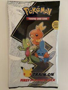 Pokemon TCG First Partner Pack HOENN Cards +2 Booster Packs Brand New SEALED