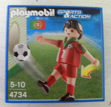Playmobil Fussballspieler Portugal 4734 Neu & OVP Fussball Spieler