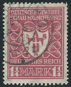 DR-Inflation-1922-MiNr-199b-gestempelt-INFLA-geprueft-TOP-Erhaltung