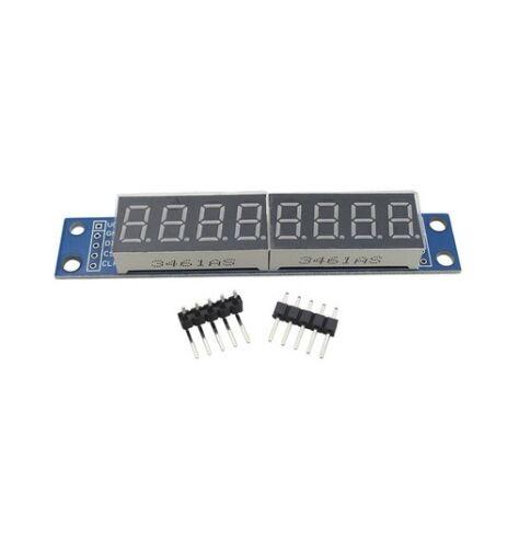 1PCS MAX7219 EWG 8-Digit Digital Tube Display Control Module Red for Arduino