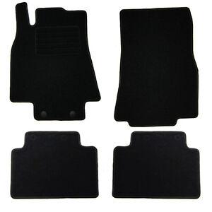 4 tapis sol moquette noir sur mesure mercedes classe a w169 160 180 200 cdi ebay. Black Bedroom Furniture Sets. Home Design Ideas