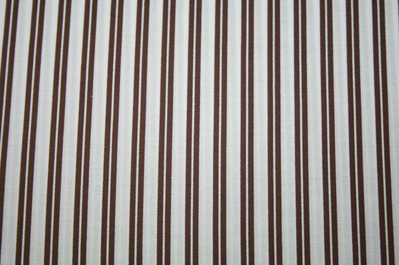Ralph Lauren Home Fitted sheet, Bettlaken 140 x 200 cm Holden stripe braun
