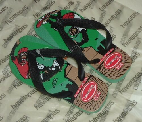 Flops Kid Skate Green 30 Uk10 Flip Havaianas Monkey Junior 11 Eu29 Boarders 0wdq5xp0t