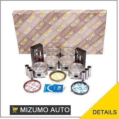 Full Gasket Set Pistons Bearings Fit Isuzu Rodeo Honda 3.2 6VD1