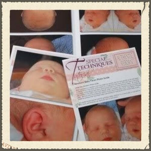 ~PaiNtiNg BaBy FaCeS PhOtO GuiDe ~ REBORN DOLL SUPPLIES