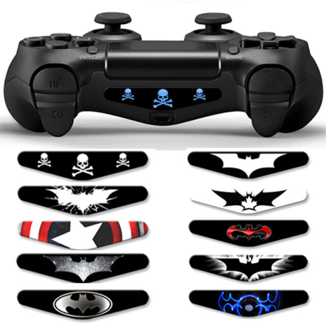 Game Controller Light Bar Lightbar Removable Decal Sticker for PS4 Playstation 4