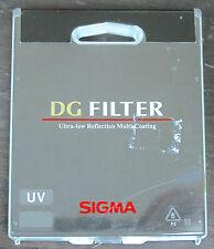 SIGMA 72mm  UV  DG multi coating FILTER - NEW Sealed