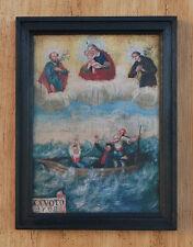 Mariahilf Antonius von Padua heiliger Joseph Seenot Gardasee Sturm Votivtafel 08