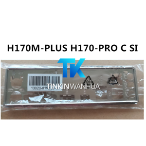 NEW IO I//O SHIELD back plate BLENDE BRACKET for ASUS H170M-PLUS H170-PRO C SI