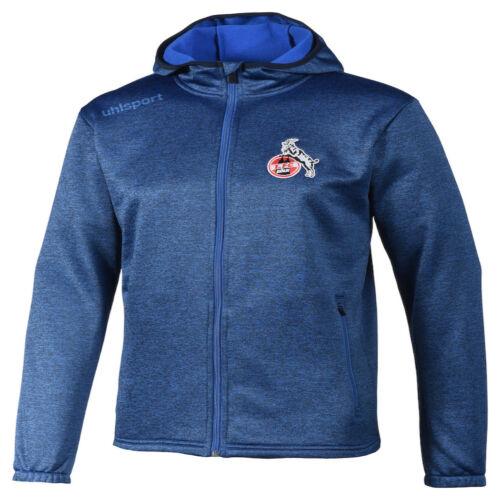 uhlsport 1.FC Köln Essential Fleece Jacke Herren blau 1005177021948