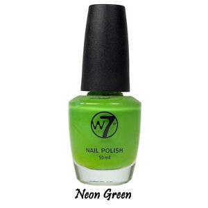 Nail-Polish-Make-Up-Professional-Beauty-Shade-16-Fluroescent-Green-15ml-W7
