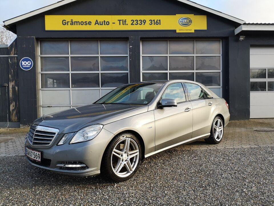 Mercedes E200 2,2 CDi Elegance aut. BE Diesel aut.