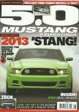 50 Mustang 2012 Aug Coyote Twin Turbo 13 Gt Test Blown Gt500