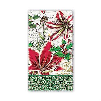 Michel Design Works Hostess Napkins Peppermint