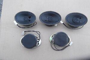 Lautsprecher oval Neu  5   Stück  von DIGI-Sound