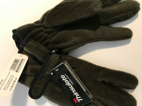 LADIES WOMENS SOFT THINSULATE POLAR FLEECE LINED THERMAL PLAIN WINTER GLOVES