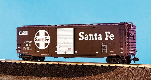 artículos de promoción USA Trains G Escala 50 pies solo solo solo puerta coche de caja R19300A Santa Fe-Toscano  auténtico