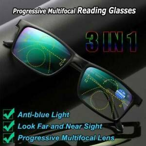 Unisex-Multifocal-Lens-Anti-blue-Light-Reading-Glasses-Presbyopia-Eyeglasses-HOT