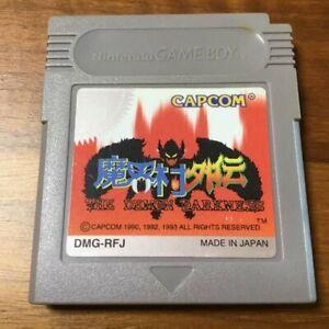 Gargoyle S Quest 2 Makai Mura Gaiden The Demon Darkness Gameboy Gb Japan Version Ebay