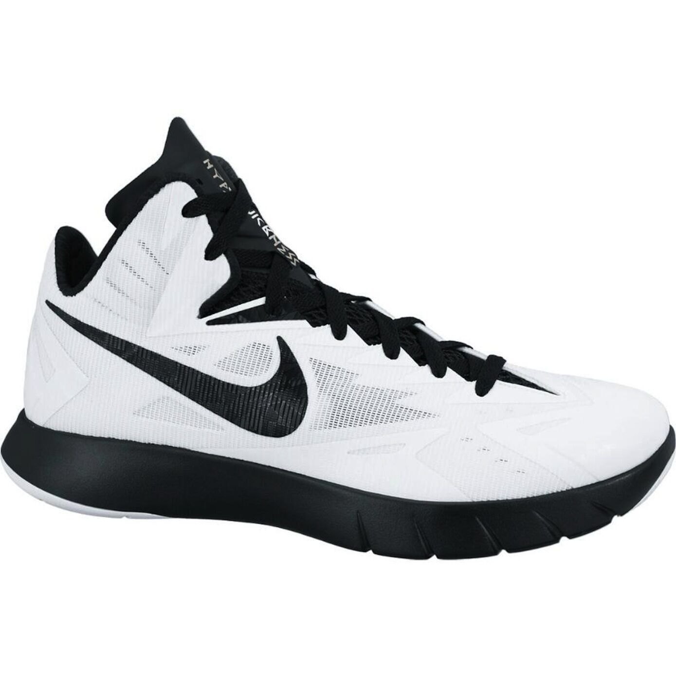 Nike Lunar Hyperquickness TB Uomo White Basketball Shoes 652775-101 Sz 18
