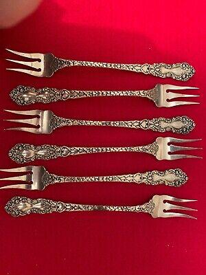 Lancaster-Gorham Sterling Oyster//Cocktail Fork s