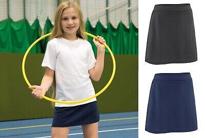 Girls Skort Junior Skort SPIRO Sports PE Gym Skirt S261J